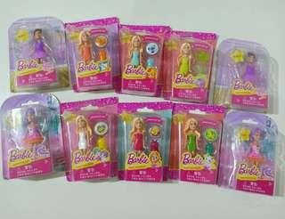 Barbie mini @20rb