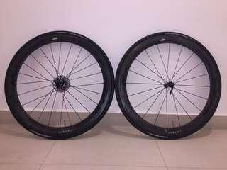 FIR R2 Italian handmade Full Carbon Road Race wheels 50mm