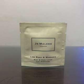 Jo Malone Lime Basil & Mandarin Body & Hand Lotion Sample