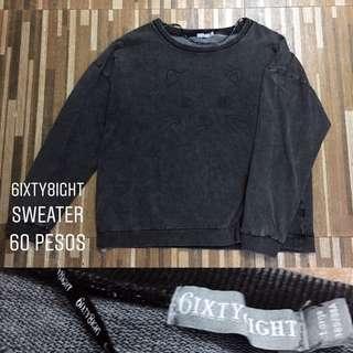 6ixty8ight Kitty Sweater