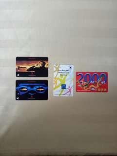 Vintage Translink Cards