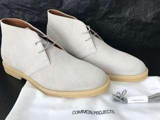 Common Projects Suede Chukka Boots - EU 43 / US 10 / UK 9
