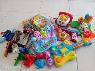 baby toys kindergarten story books