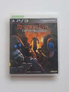 Ps3 Resident Evil Operation Raccoon City Game