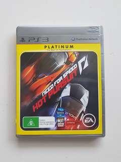 Ps3 Need for Speed Hot Pursuit Game