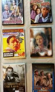 DVD - CLASSICAL MOVIES (58 TITLES)