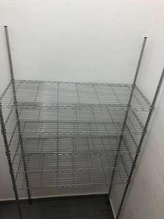 5-tier Stainless Steel Racks