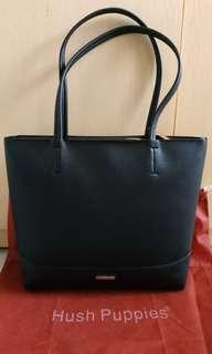Ready Sale Tas Hush Puppies Tote Bag Brianna EW Black Original
