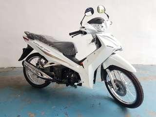 Brand new 2019 Honda Wave 125 - white