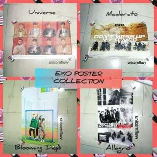 EXO ALBUM POSTER COLLECTION 🌟