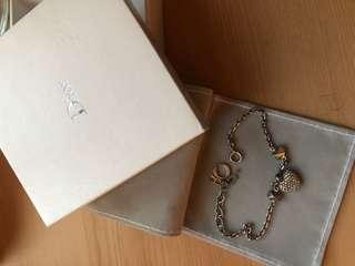 AUTHENTIC DIOR bracelet and ring