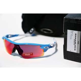 XMAS CLEARENCE! Oakley Radarlock Path Sky Prizm Road Lens(Asia Fit)