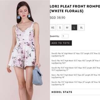 Can nego Preloved thetinselrack Lori romper