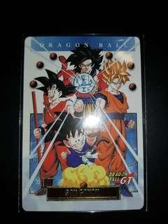 Dragonball Carddass Fan Card