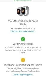 Apple Watch Series 3 43MM MY Set Space Gray