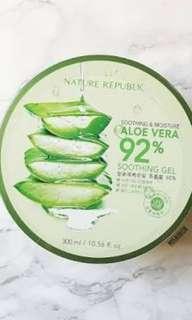 OPEN PO Aloe vera soothing gel nature republik