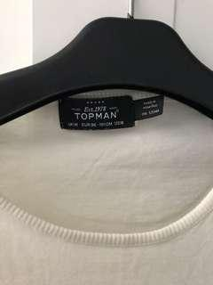 topman striped tee