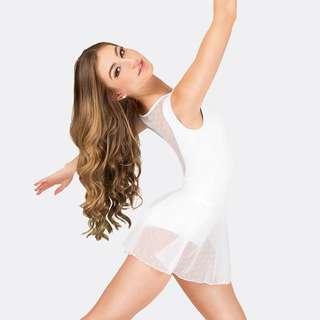 Dot Mesh Ballet Pull-on skirt (BNWT)