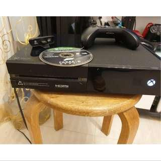 Xbox One 500Gb with 1 controller 1 game Forza
