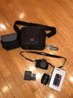 CANON EOS REBEL T5 CAMERA PACKAGE