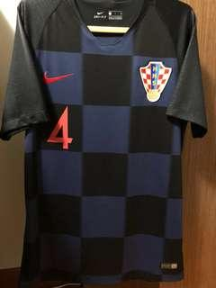 d813e16f4 Authentic Croatia 2018 World Cup Away Jersey - Perisic 4