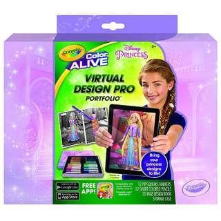 Crayola Color Alive Disney Princess Vitual Design Pro Portfolio