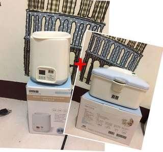🚚 最強組合。新手媽媽必備✨奇哥溫奶器+濕紙巾加溫器