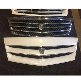 JDM Toyota Alphard Grill With Front Camera
