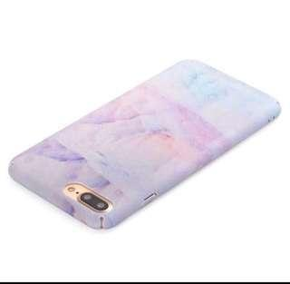 Iphone 8 and 7 Pastel Gradient Marble Print Cover Casing