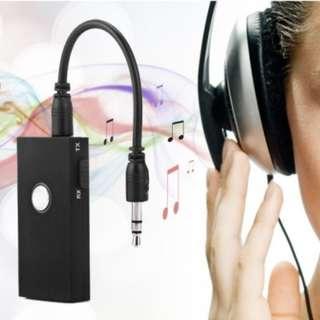 (BNIB) COOLEAD 2-in-1 Bluetooth v3.0 Transmitter & Receiver BTI-010 - Black (Brand New Boxed)