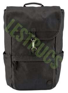 Backpack TIMBERLAND WALNUT HILL 30L WAXED CANVAS Daypack Tas Laptop Punggung Ransel Hitam Black
