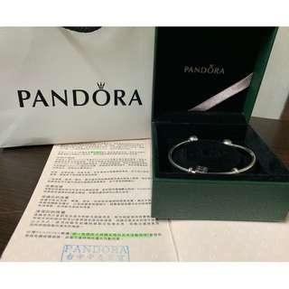 Pandora 潘朵拉 硬環  二手