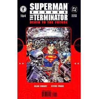 SUPERMAN VS. THE TERMINATOR: DEATH TO THE FUTURE #1-4 (1999) Complete set