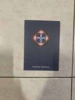 NEW Captain America notepad
