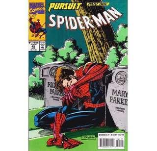 """SPIDER-MAN """"PURSUIT"""" (1997) Complete set"""