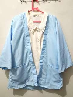 Soft blue cardigan