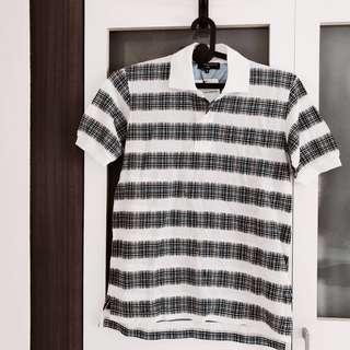 Branded sale Comme des Garçons Men Polo Collar T shirt