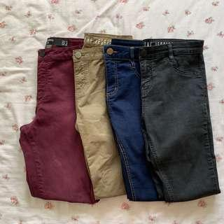 factorie/cotton on jeggings