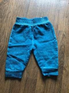 Celana ombre - pants - tosca - hijau - green