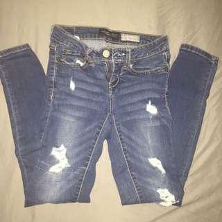 Aero Ripped Jeans