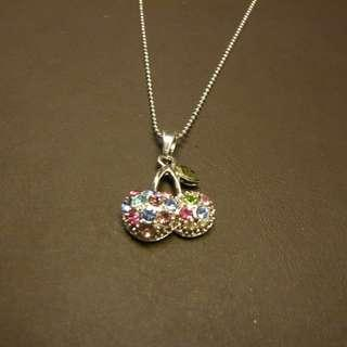 (BN) Shimmering Cherry Necklace (Brand New)