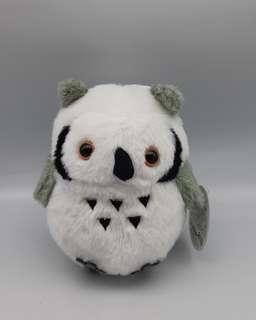 可愛類: 日本東京白色森林貓頭鷹毛公仔