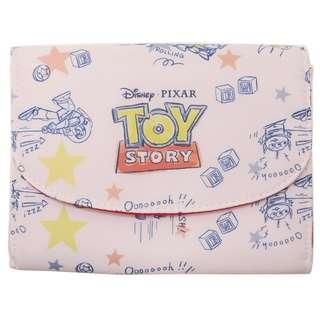 日本直送 Disney 迪士尼 Pixar 系列 Toy Story 反斗奇兵 Buzz 巴斯光年 The Little Green Man / Alien 三眼仔 Pouch / 證件袋 / 銀包