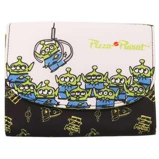 日本直送 Disney 迪士尼 Pixar 系列 Toy Story 反斗奇兵 The Little Green Man / Alien 三眼仔 Pouch / 證件袋 / 銀包