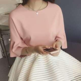 RM20 only ~Pink Top- Ready Stocks- FREE Shipping