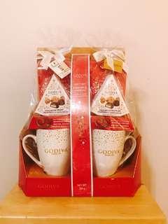 Godiva Cocoa and Mug Gift Set