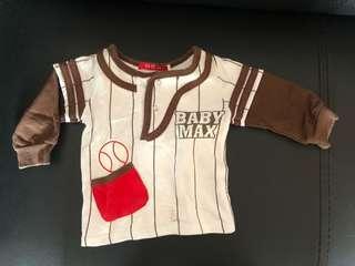 Baju Baseball bayi