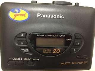 🚚 Panasonic 錄音機-僅當收藏或裝飾使用