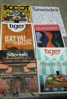 Various magazines - travel/heritage/health/Spa