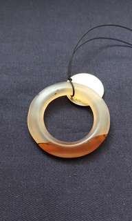 舊瑪瑙三財環49,,31,4mm